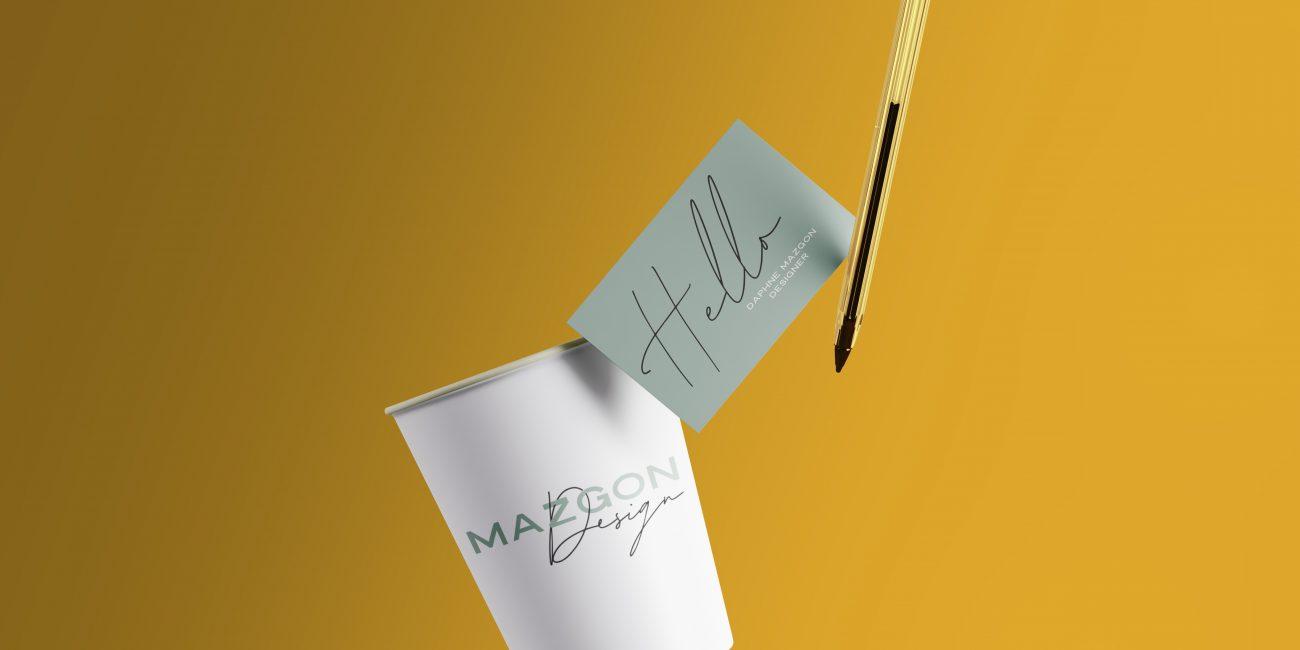 logo visitkaartje Mazgon Design
