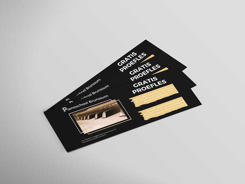 Ontwerp flyer door Mazgon Design