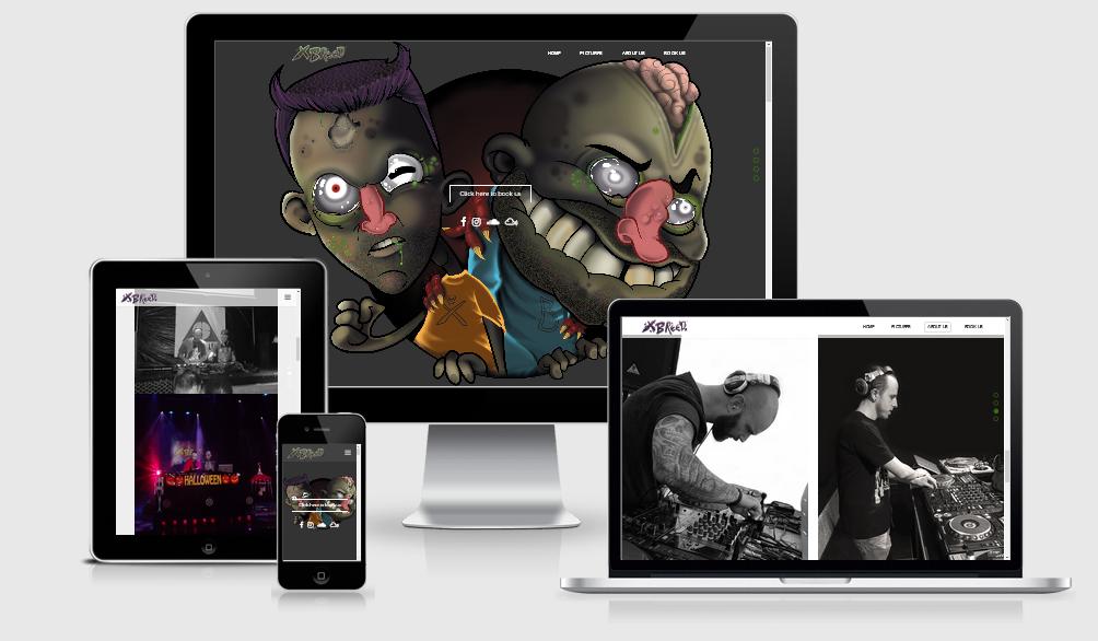 Website X breed gemaakt door Mazgon Design