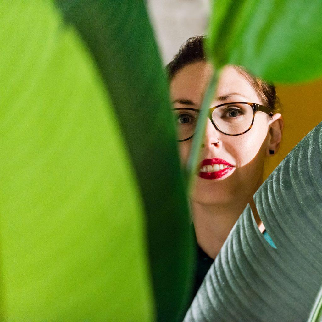 Daphne Mazgon, vormgevever en webdesigner uit Limburg