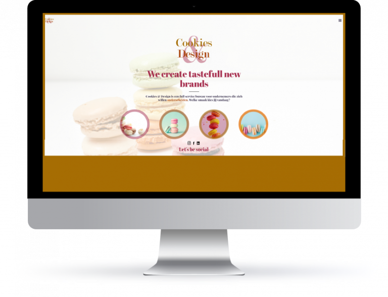 Website cookies & design