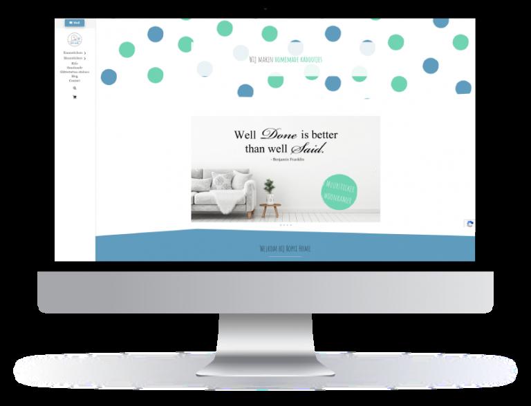 Nieuwe website gemaakt voor Roprihome Landgraaf door mazgon Design