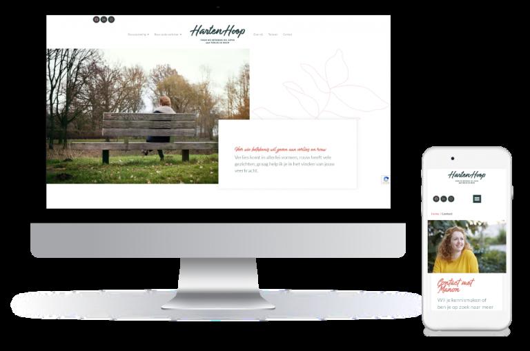 Nieuwe website gemaakt voor HartenHoop