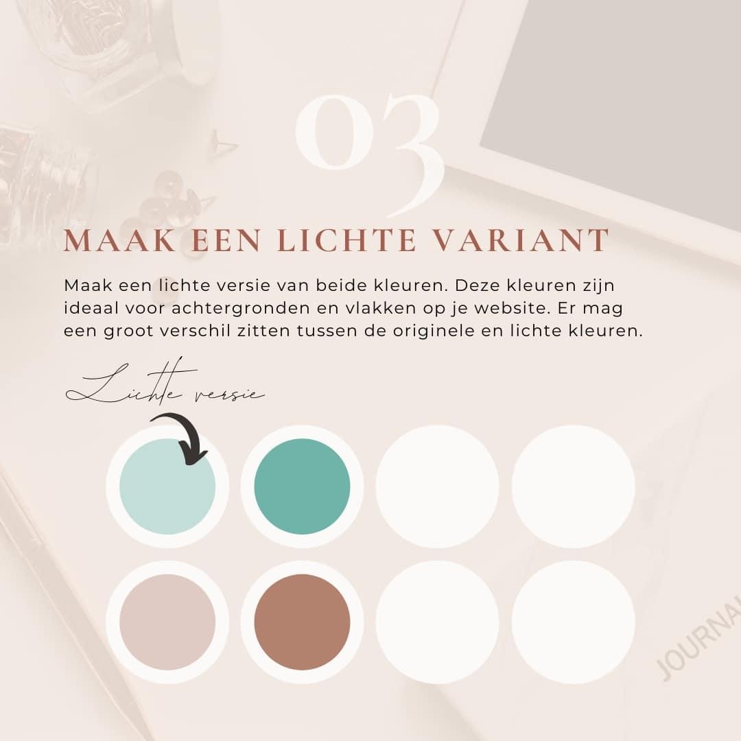 Maak in zes stappen een kleurpalet voor je website